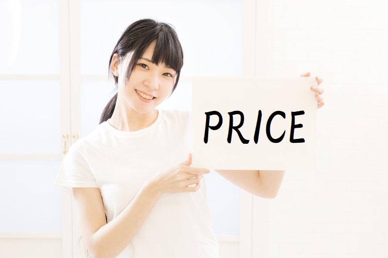社会保険労務士通信講座の価格を比較する女性